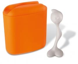 Dóza na kávu Koziol oranž