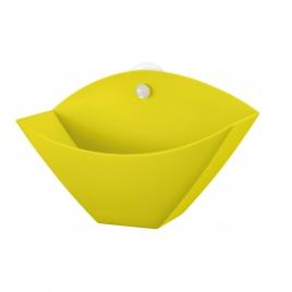 Koziol držák na kávové filtry žlutý