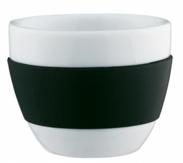 Koziol šálek cappucino černý