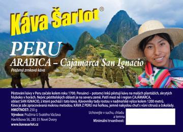 Peru Cajamarca San Ignacio (Arabica)