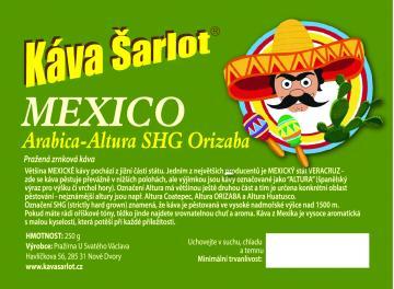 Mexico Altura SHG Orizaba (Arabica)