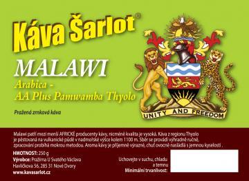 Malawi AA Plus Pamwamba Thyolo (Arabica)