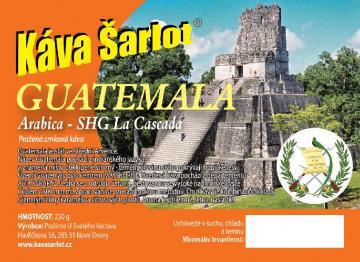 Guatemala SHG La Cascada (Arabica)