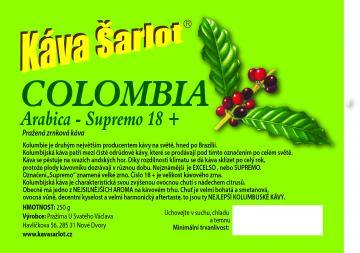Colombia Supremo 18+ (Arabica)