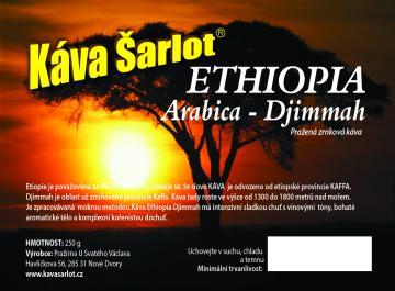 Ethiopia Djimmah Gr 5 (Arabica)