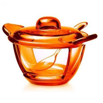 Guzzini cukřenka Bolli, oranžová