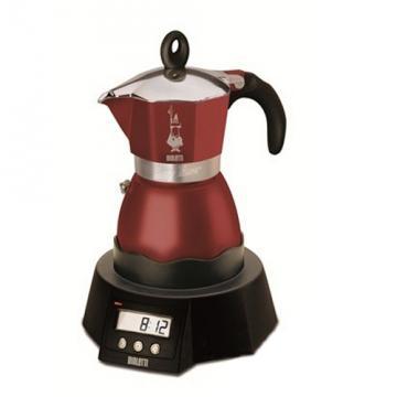 Kávovar Bialetti Easy Timer 3 vínový
